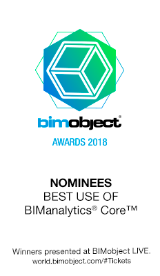 FAKRO nominated for the BIMobject Awards 2018 in the category \