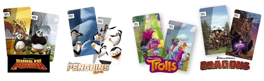 Rulourile ARF DreamWorks
