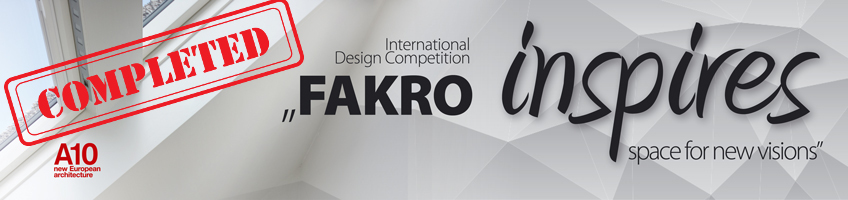 "Raportul Juriului 2015 - ""FAKRO inspires –space for new visions""  FAKRO"